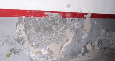 Filtracions en un garatge - Abans