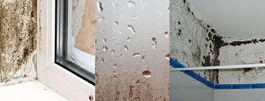 Los problemas de humedades en verano